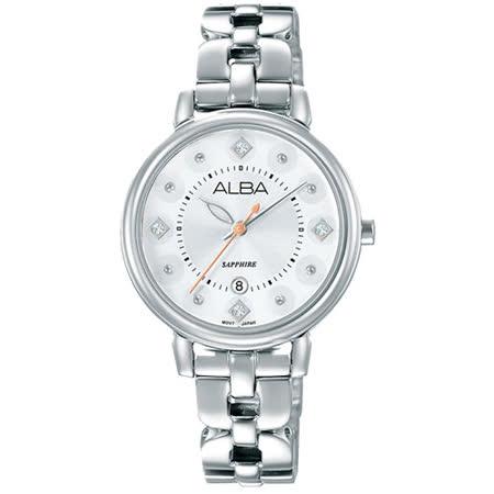 ALBA 雅柏 Fashion Lady 永恆精典女用腕錶/30mm/VJ22-X244S