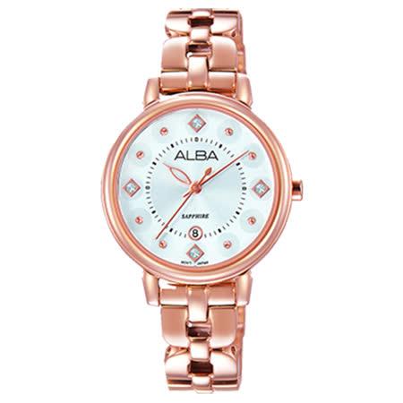 ALBA雅柏 Fashion Lady 永恆愛戀精典女用腕錶/30mm/VJ22-X244K