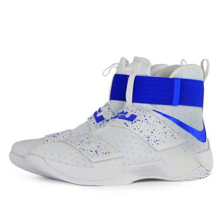 NIKE 男 LEBRON SOLDIER 10 EP  籃球鞋 白 844375164