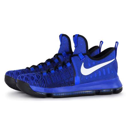 NIKE 男 NIKE ZOOM KD 9 EP 籃球鞋 藍 844382410