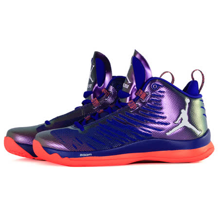 NIKE 男 JORDAN SUPER.FLY 5 X 籃球鞋 紫紅 850700415
