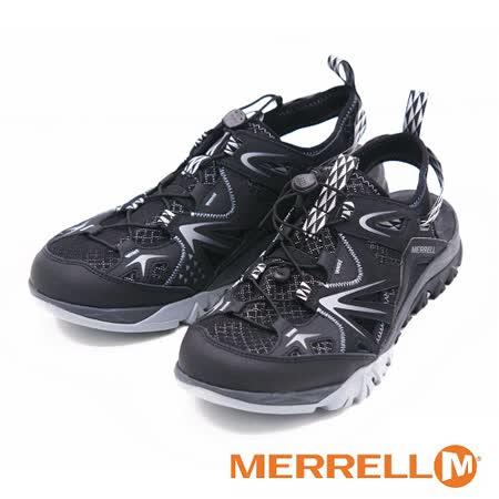 MERRELL CAPRA RAPID SIEVE 三棲運動鞋涼鞋 男鞋-黑