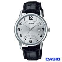 【CASIO卡西歐】 時尚女仕皮革腕錶-白 LTP-V002L-7B