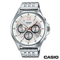 【CASIO卡西歐】 指針系列歐美時尚三眼石英男錶 MTP-E303D-7A