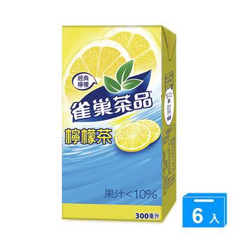 雀巢茶品檸檬茶300ml*6入