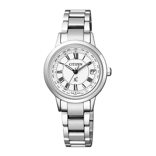CITIZEN xC 戀之梵蒂岡電波時計腕錶-EC1140-51A