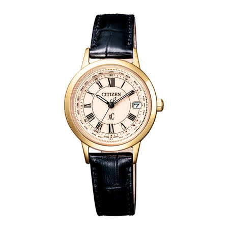 CITIZEN xC 戀之梵蒂岡電波時計腕錶-EC1142-05B