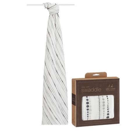 美國aden+anais新生兒絲柔(竹纖維)包巾1入-月光系列AA8942