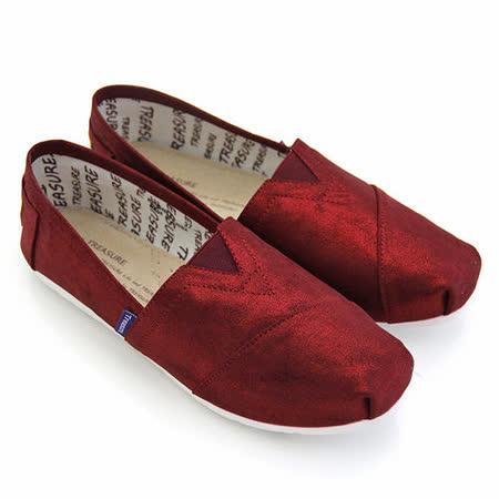 【SNAIL蝸牛_姊妹品牌】Treasure百搭亮面帆布懶人休閒鞋(女鞋)