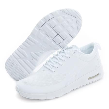 NIKE (大童) 慢跑鞋 白 814444100