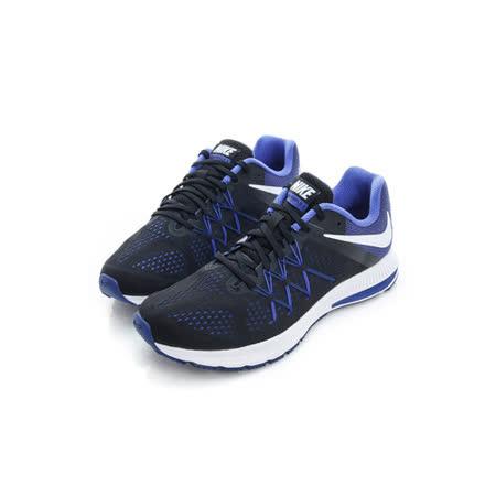NIKE (男) 慢跑鞋 黑藍 831561012