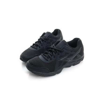MIZUNO (男) 慢跑鞋 黑 K1GA170209