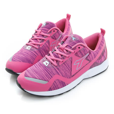 DIADORA (女) 慢跑鞋 桃紅水藍 DA6AWC3772