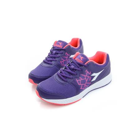 DIADORA (女) 慢跑鞋 紫粉白 DA6AWR3397