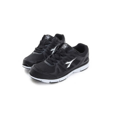 DIADORA (女) 慢跑鞋 黑白 DA7AWR2820