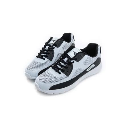 DIADORA (男) 慢跑鞋 白黑 DA6AMC3138