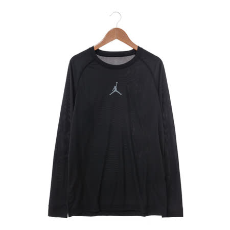 NIKE (男) 圓領T(長) 黑 685815010