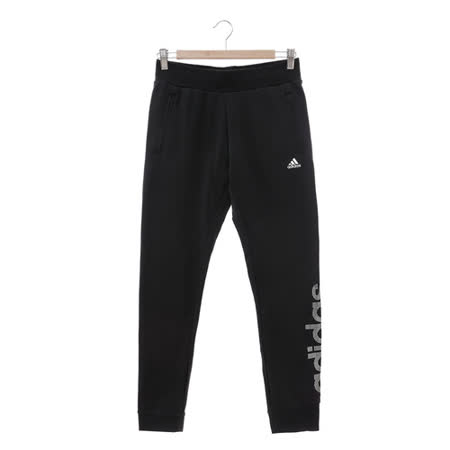 Adidas (女) 運動棉長褲(薄) 黑 AZ4899