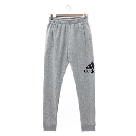 Adidas (男) 運動棉長褲(薄) 淺灰 AB6528
