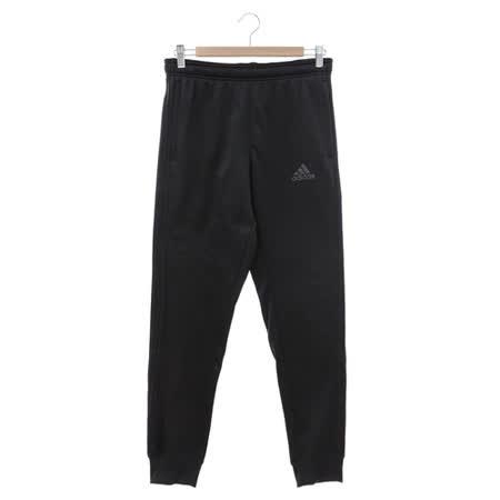 Adidas (男) 運動棉長褲(薄) 黑 AY7457
