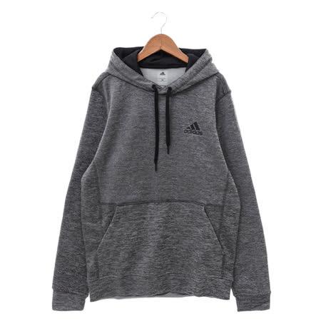 Adidas (男) 連帽T(長) 灰黑 AY9549