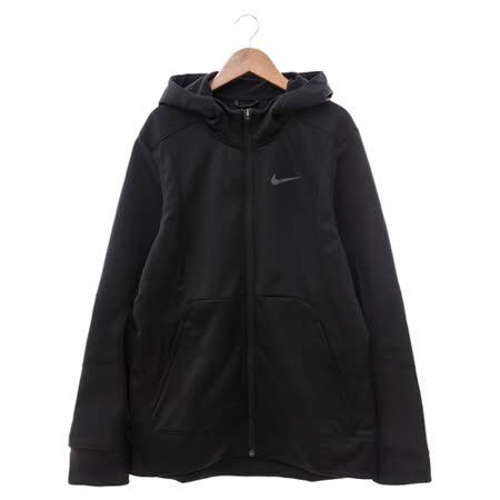 NIKE (男) 棉質--運動外套(連帽) 黑 800038010