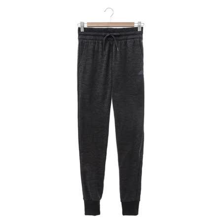 Adidas (女) 運動棉長褲(薄) 鐵灰 AY7643