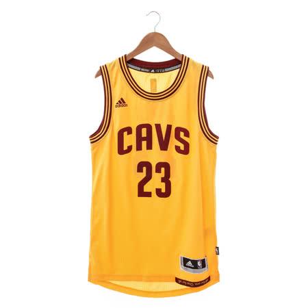 Adidas (男) 籃球背心 黃 A61201