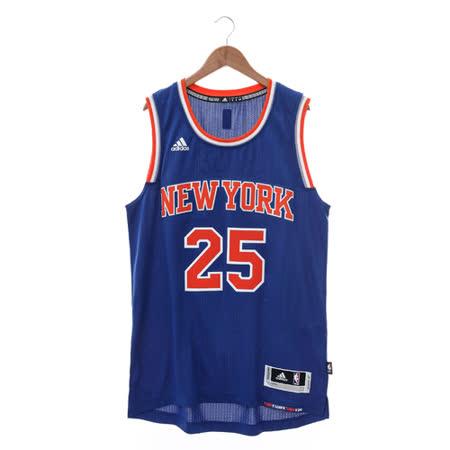 Adidas (男) 籃球背心 藍 CB9702
