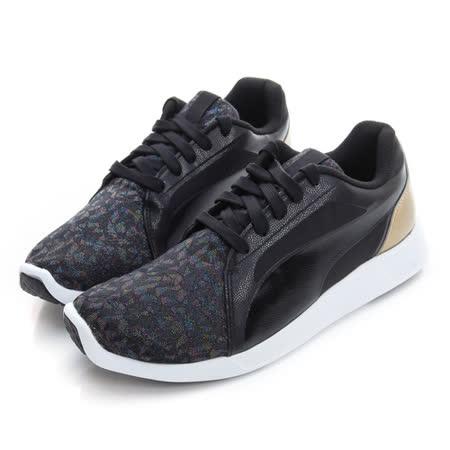 PUMA (童) 經典復古鞋 黑 36153801