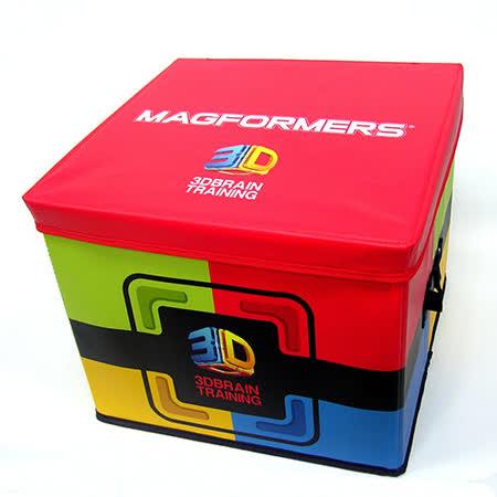 【Magformers 磁性建構片】磁片專用收納箱 Red Box ACT05912