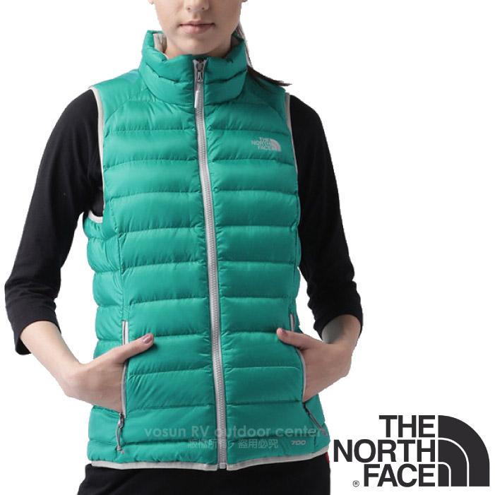 ~美國 The North Face~女款 700FP 超輕量保暖鵝絨羽絨背心^(防風抗撕