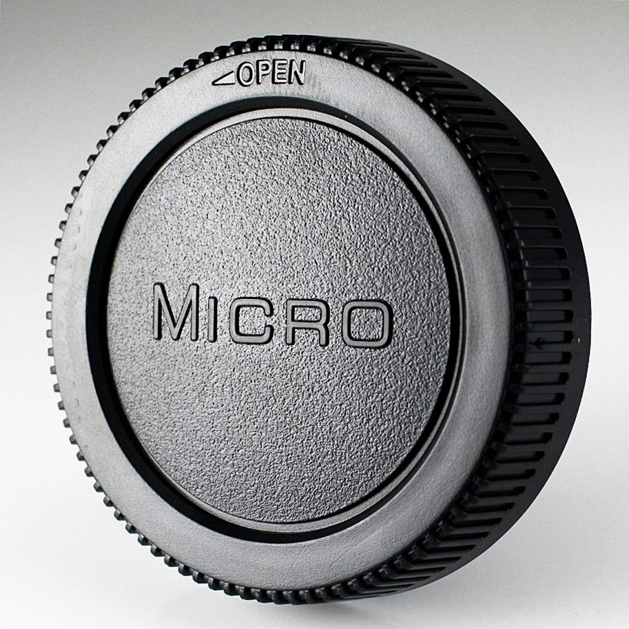 副廠Olympus鏡頭後蓋M43後蓋,亦適Panasonic(Micro字樣)