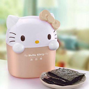 Hello Kitty 海苔歡樂筒-玫瑰金(2盒) 盒
