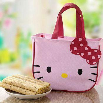 Hello Kitty 芝麻蛋捲禮盒-首選版(2盒) 盒