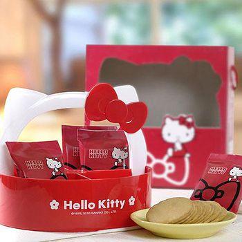 Hello Kitty 檸檬薄燒餅乾禮盒(2盒) 盒