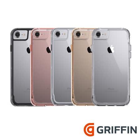 Griffin Survivor Clear iPhone7 4.7吋軍規防摔殼
