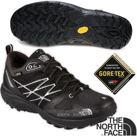 【美國 The North Face】ULTRA FASTPACK 男款Gore-Tex 防水透氣低筒輕量登山鞋.越野鞋.健行鞋_ CCE3 黑 V