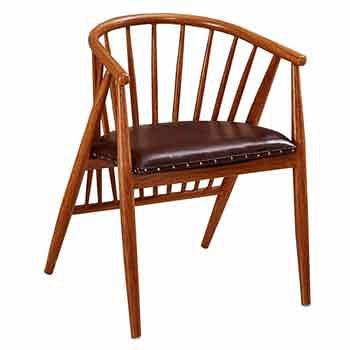 AT HOME-薇薇安鐵藝餐椅(兩色可選)