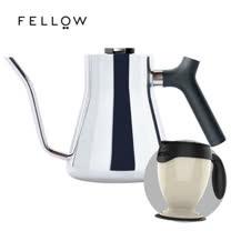 【FELLOW】STAGG 不鏽鋼測溫手沖細口壺 v1.2 (亮面) 送 送吸奇不倒杯經典馬克杯