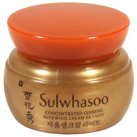 Sulwhasoo雪花秀 滋陰生人蔘修護霜(輕潤型)(5ml)