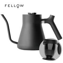 【FELLOW】STAGG 不鏽鋼測溫手沖細口壺 (黑) v1.2 送吸奇不倒杯經典馬克杯