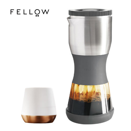 ~FELLOW~DUO 浸泡式咖啡壺 v1.2  灰  送Joey雙層陶瓷杯