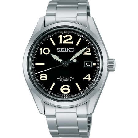 SEIKO 6R15精工23石紳士機械腕錶-黑/40mm 6R15-02R0D(SARG009J)