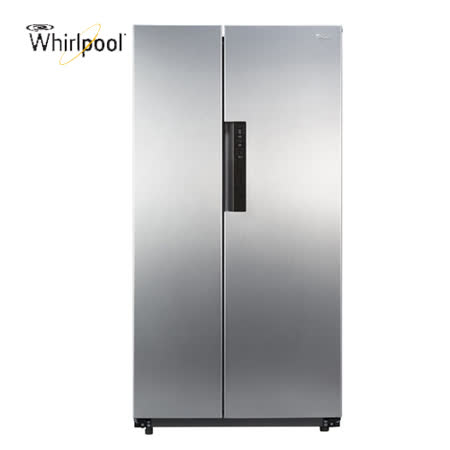 【Whirlpool惠而浦】600公升對開冰箱 WHS21G  送安裝+玻璃保鮮盒*1(鑑賞期過後寄出)