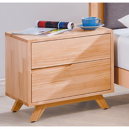 優力格家具-羅本北歐全實木床頭櫃