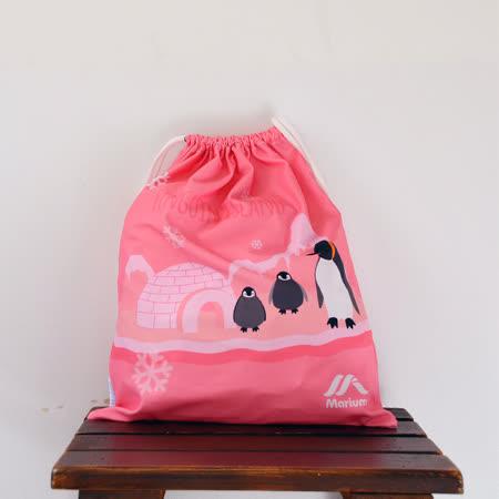 ≡MARIUM≡《多功能鞋袋》企鵝家族-粉色 SB-601053