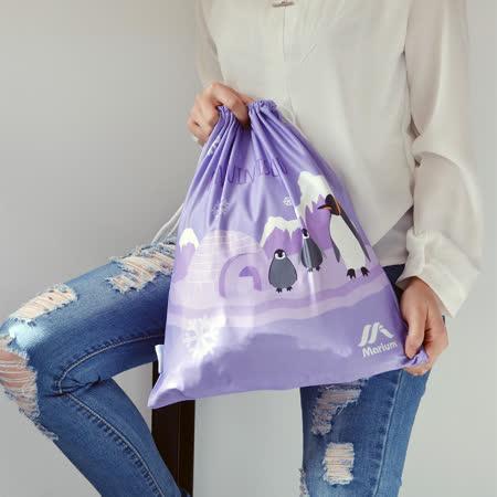 ≡MARIUM≡《多功能鞋袋》企鵝家族-紫色 SB-601060