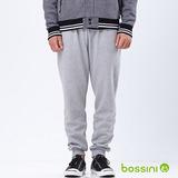 bossini男裝-厚棉束口褲04淺灰