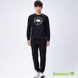 bossini男裝-柔軟家居服01黑